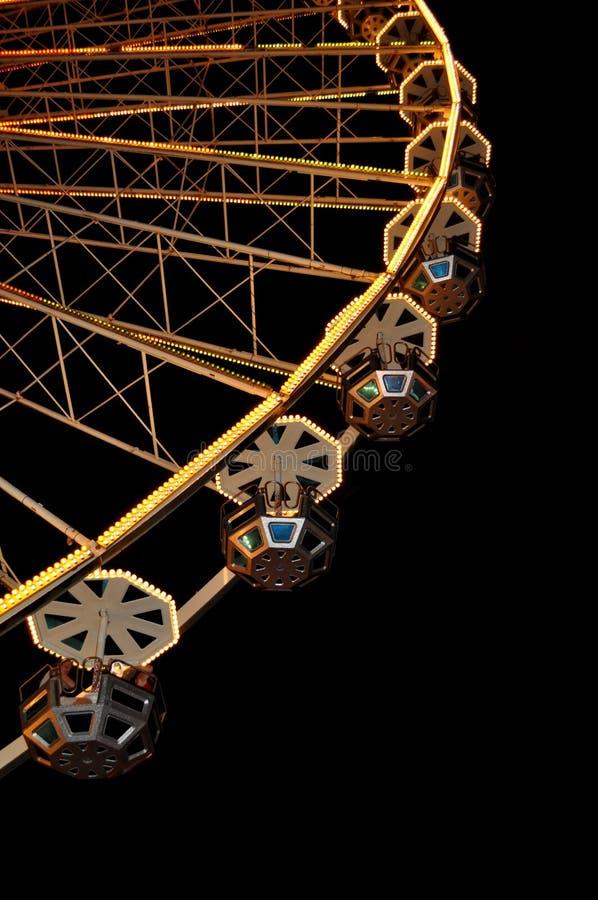 Grande roue à Rimini Italie photo stock