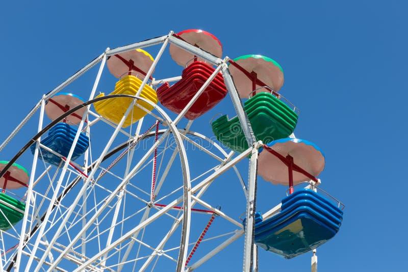 Grande roue au port d'Urk photos libres de droits
