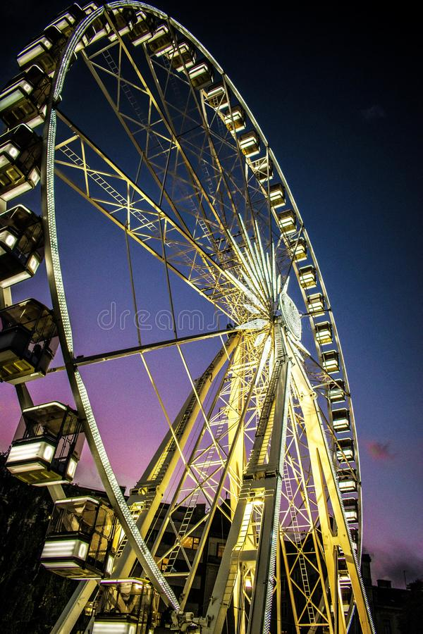 Grande roue Budapest photographie stock libre de droits