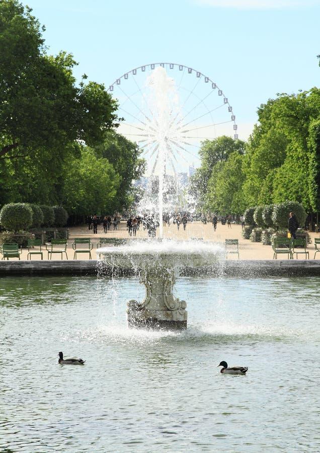 Grande Roue de Παρίσι στοκ εικόνες