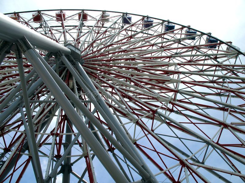 Grande roue de Ferris photographie stock