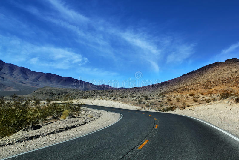 Death Valley dans Nevadia image stock