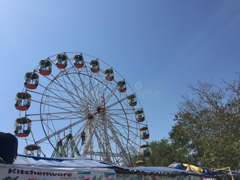 Grande ruede adentro el festival de Punjab imágenes de archivo libres de regalías