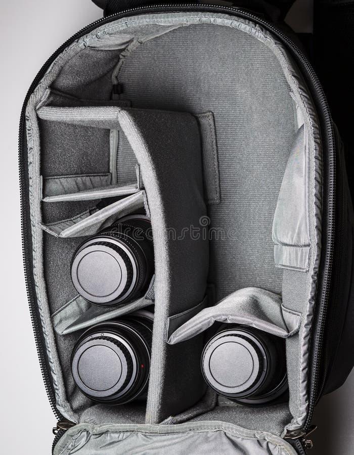 Grande saco da câmera do curso fotos de stock royalty free