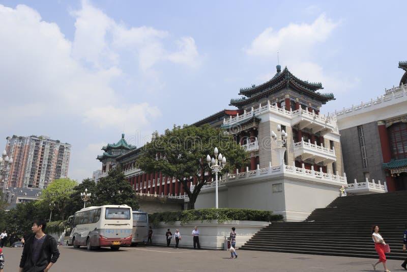 Grande salão da cidade de chongqing fotografia de stock royalty free