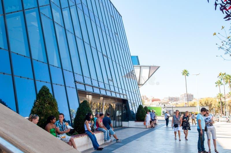 Grande sala di Cannes Francia fotografia stock