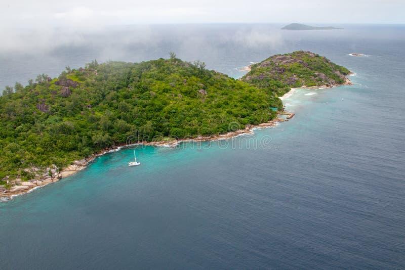 Grande Soeur, Seychelles zdjęcia stock