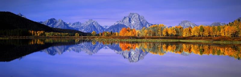 Grande sosta nazionale di Teton immagini stock libere da diritti