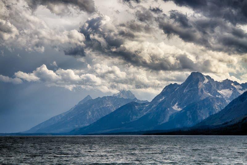 Grande sosta nazionale di Teton fotografia stock libera da diritti