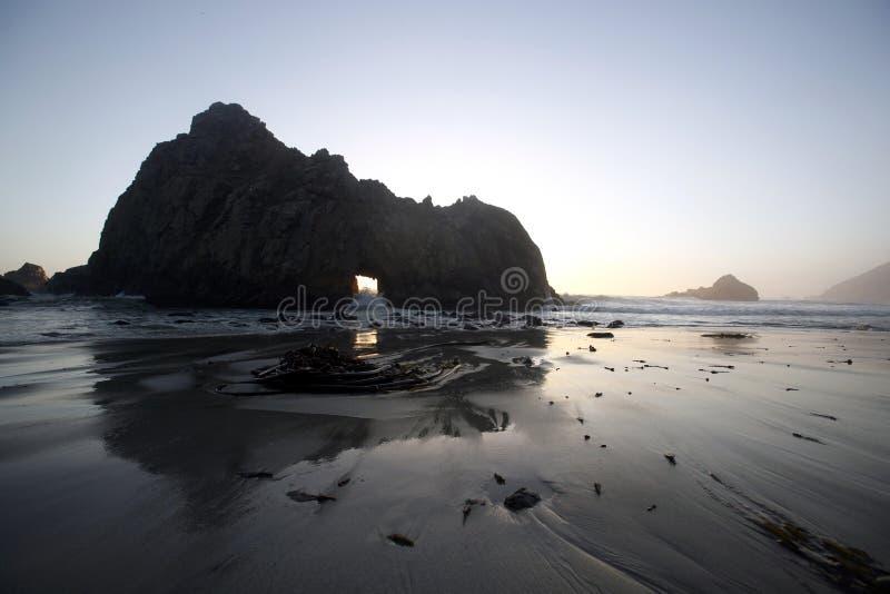 Grande spiaggia di Sur fotografia stock