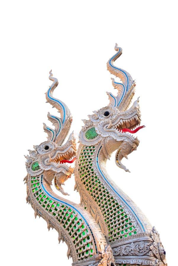 Grande statua del Naga immagini stock libere da diritti
