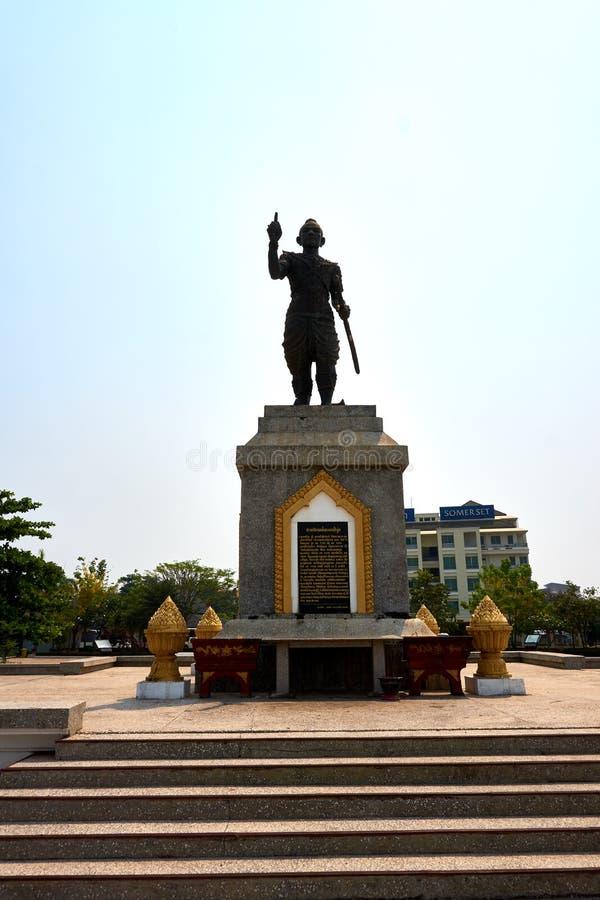 Grande statua a sud della città di Vientiane del Laos fotografie stock libere da diritti