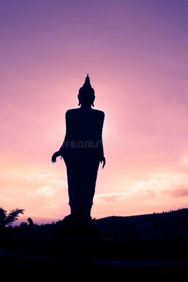 Grande statue de Bouddha images stock