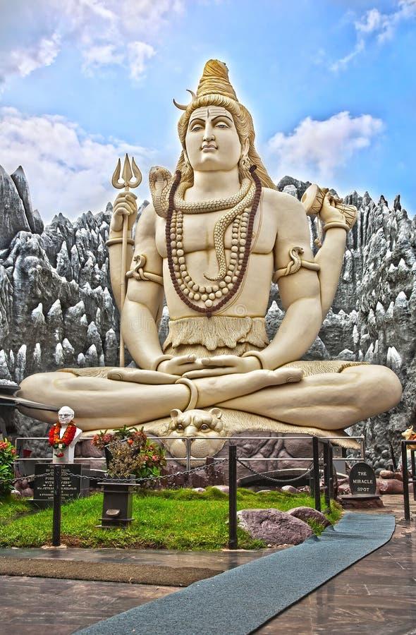 Grande statue de Shiva à Bangalore photo stock
