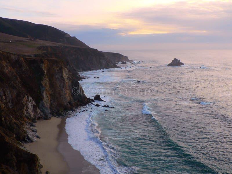 Grande Sur, California fotografia stock