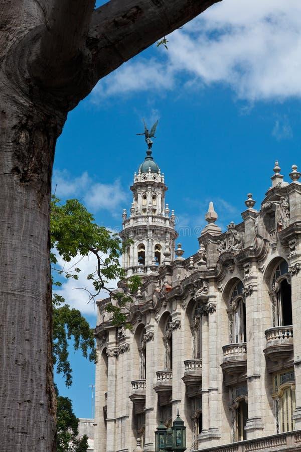 Grande teatro de Havana fotografia de stock royalty free