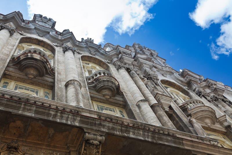 Grande teatro de Havana fotos de stock