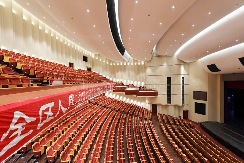 Grande teatro della città cinese fotografia stock libera da diritti
