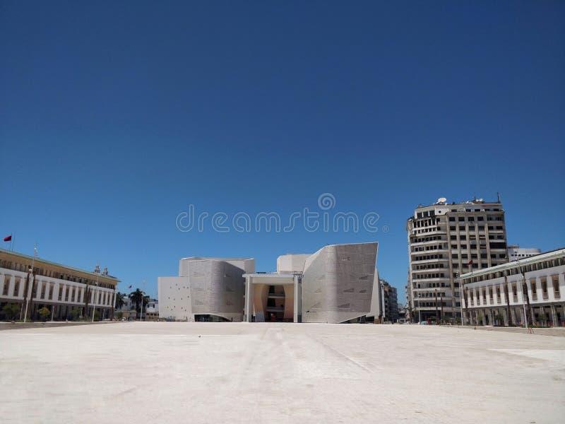 Grande teatro di Casablanca fotografie stock libere da diritti