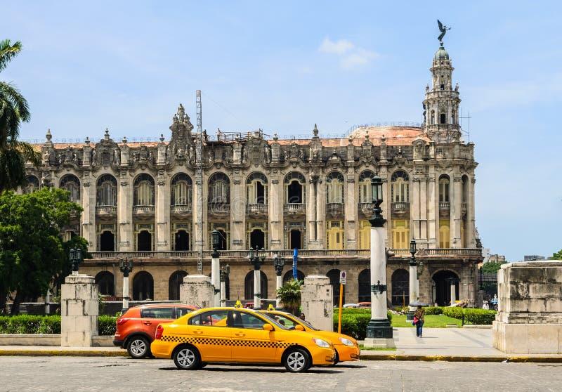 Grande teatro Havana imagem de stock