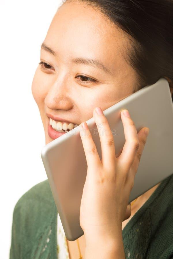 Grande telefone celular fotografia de stock royalty free