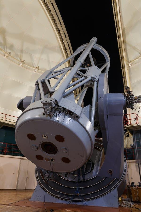 Grande telescopio ottico fotografia stock libera da diritti