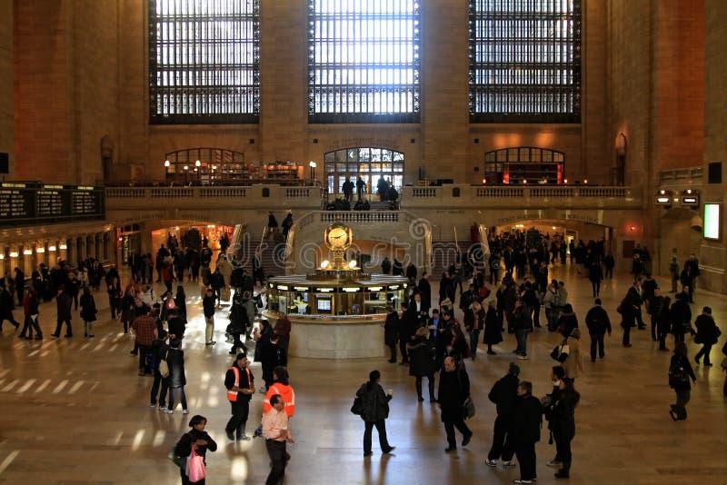 Grande terminale centrale a New York City fotografie stock