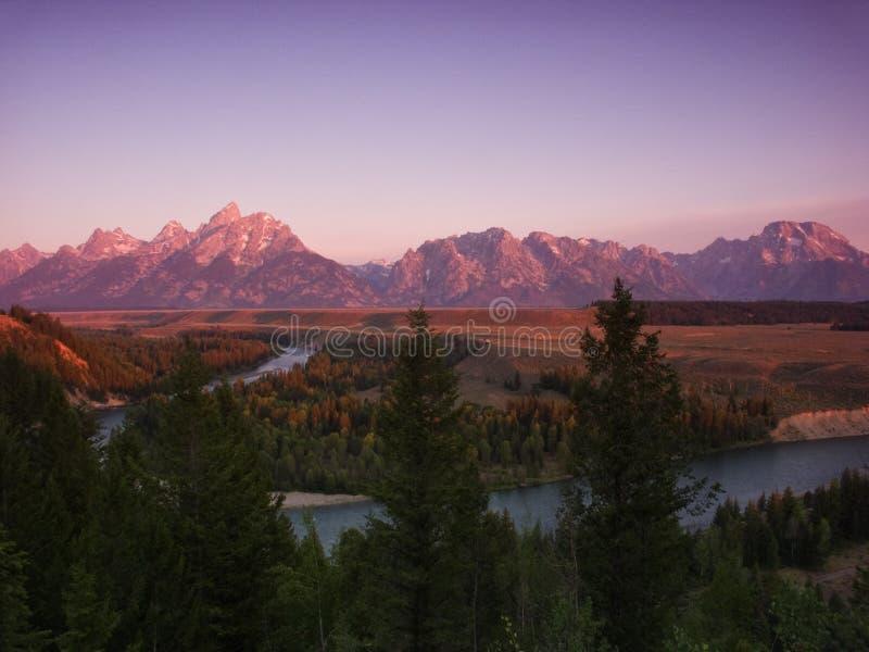 Grande Tetons fotografie stock libere da diritti