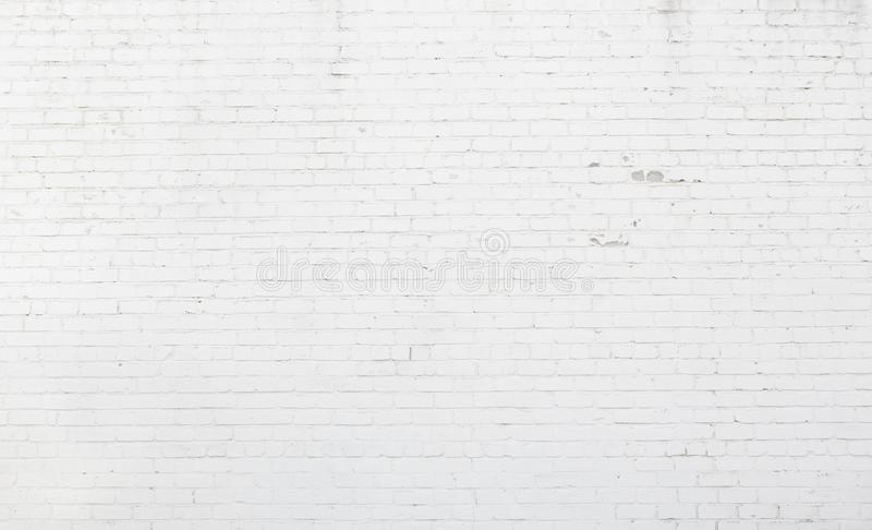 Grande textura da parede de tijolo da lavagem política foto de stock