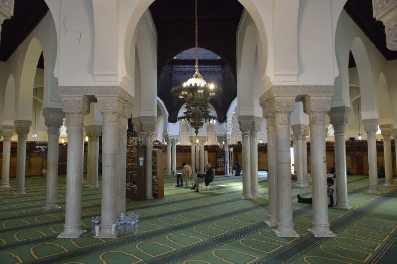 Grande 5to arrondissement de Mosquée de París - de París fotos de archivo