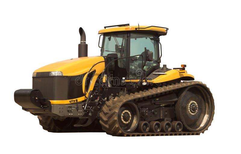 Grande trattore moderno fotografia stock