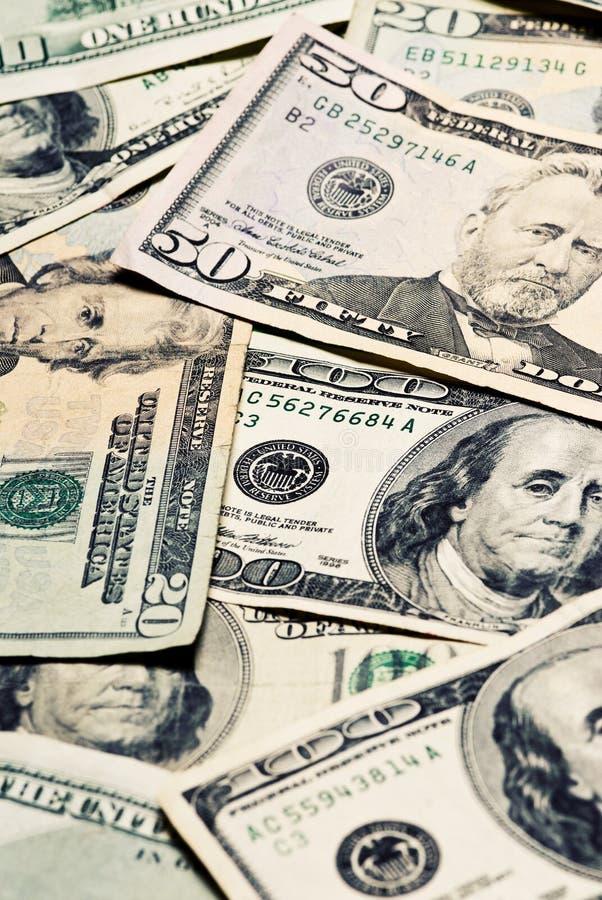 Grande traversa di valuta di denominazione elaborata immagini stock libere da diritti
