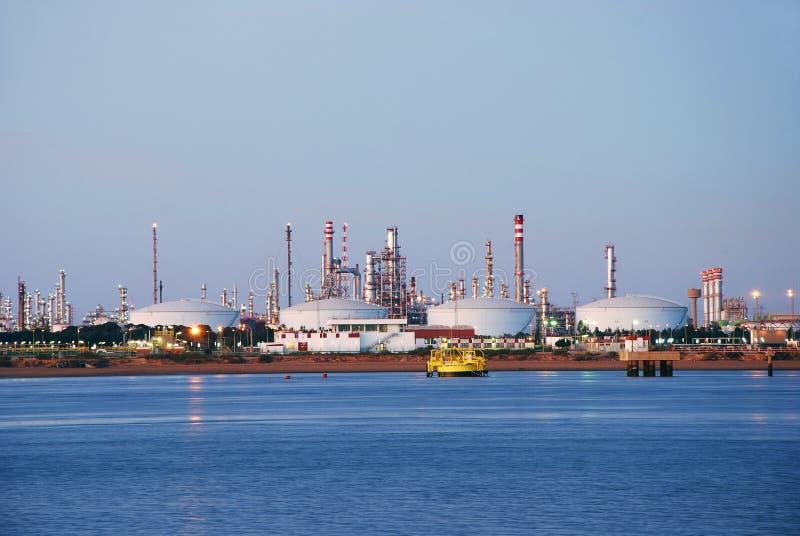 Grande usine en Espagne. images stock