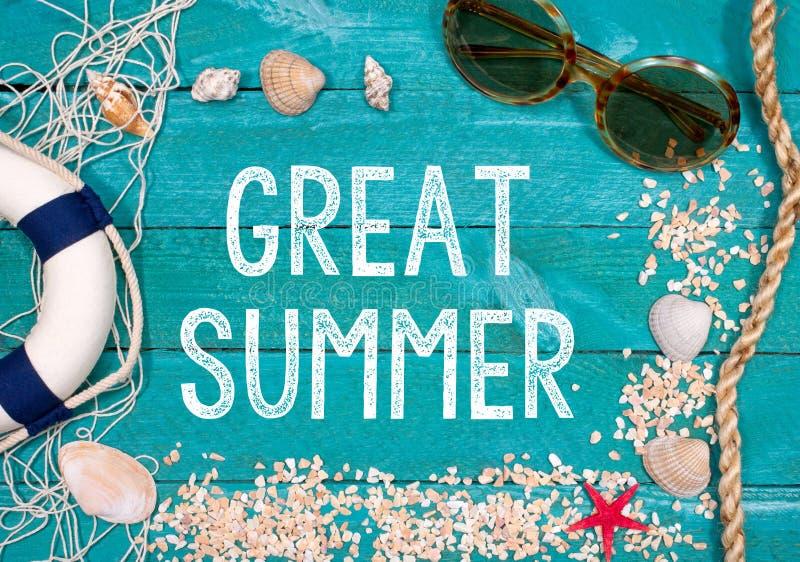 Grande verão foto de stock