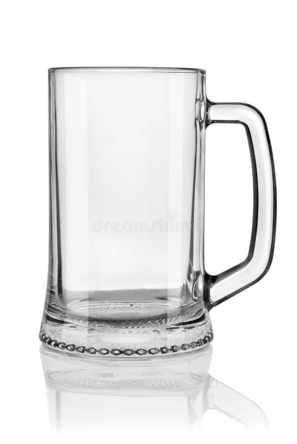 Grande vetro di birra fotografia stock