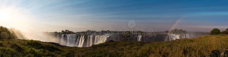 Grande Victoria Falls Zimbabwe fotografia de stock royalty free