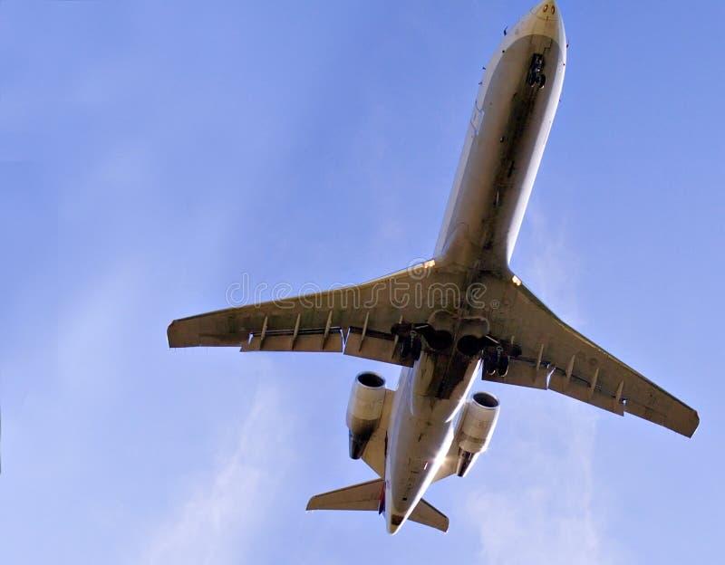 Grandes aviões de jato fotos de stock royalty free