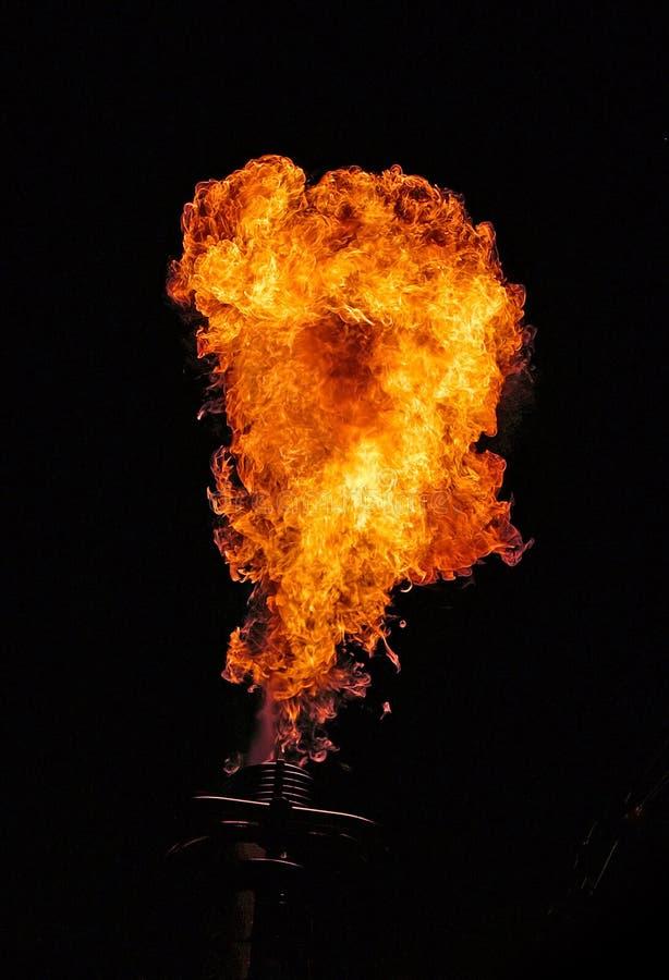 Grandes bolas de fogo. imagem de stock royalty free