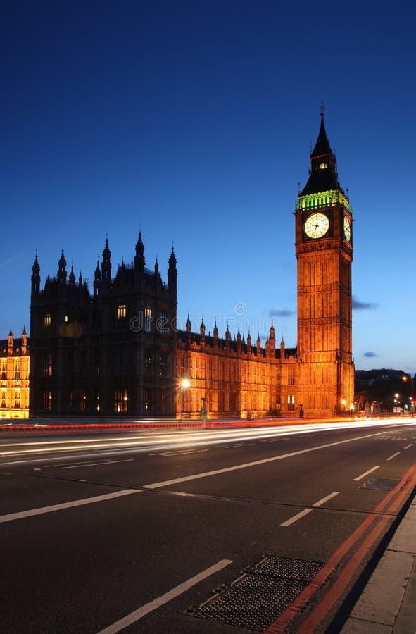 grandes bornes limites Londres s Westminster de ben photographie stock