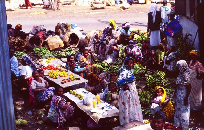 Grandes Comores: Rynek Moroni w islamskiej republice jest fotografia royalty free