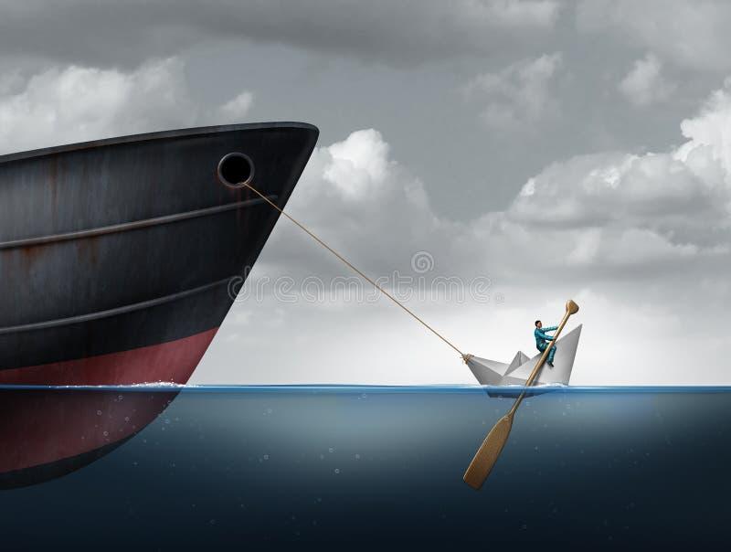 Grandes desafios de controlo ilustração stock