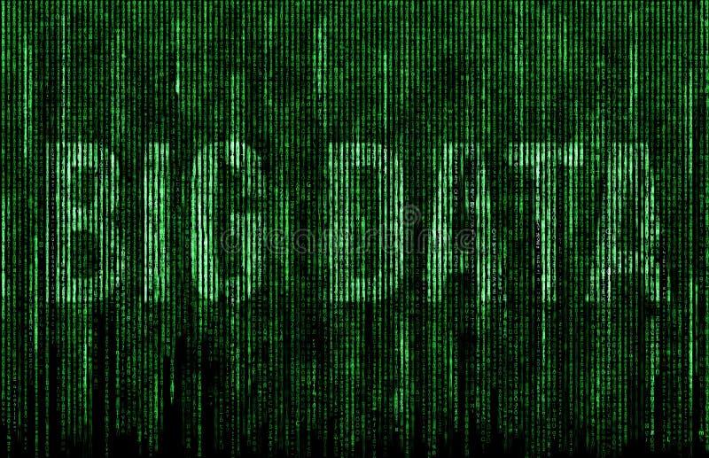 Grandes données illustration de vecteur