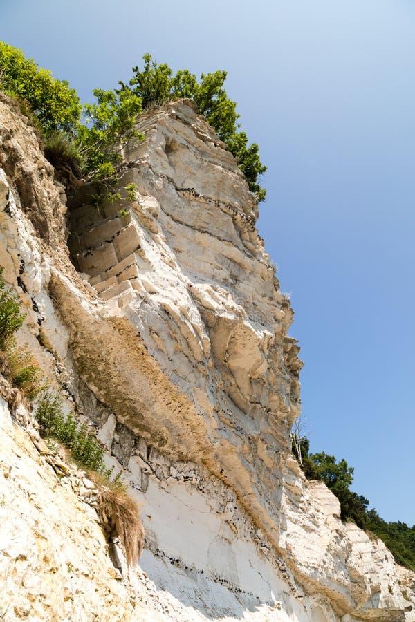 Grandes falaises de craie photo stock