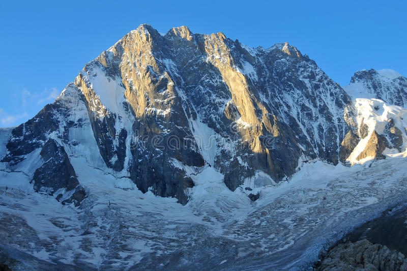 Download Grandes Jorasses stock photo. Image of rocks, mountains - 20839980