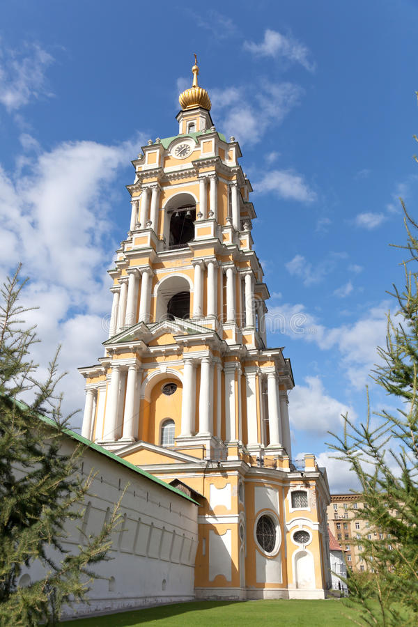 Grandes monastérios de Rússia. Moscovo fotografia de stock