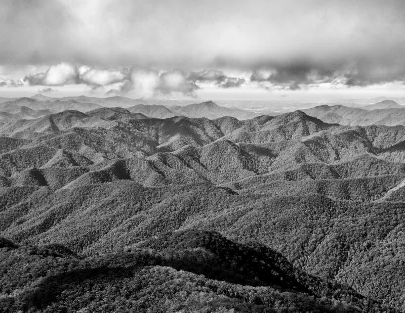 Grandes montañas de división de la gama, Australia fotos de archivo libres de regalías