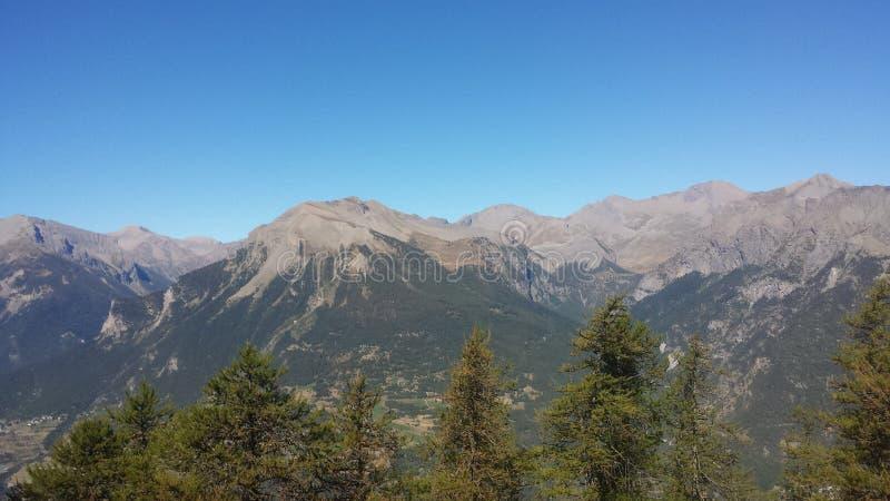 Grandes montagnes images libres de droits