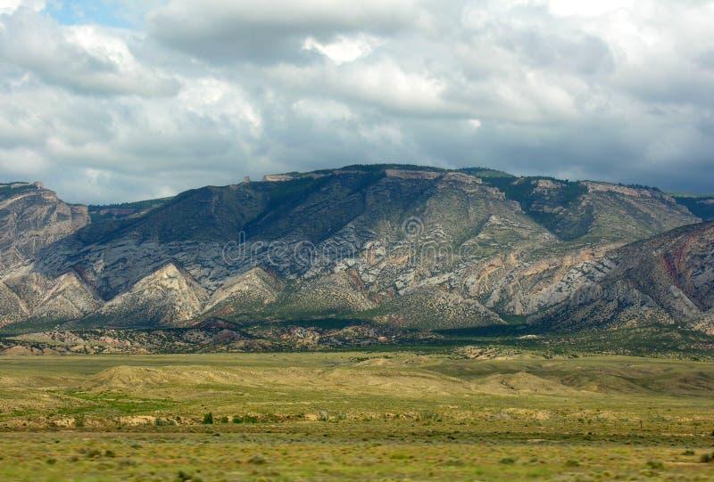 Grandes montagnes de klaxon images libres de droits
