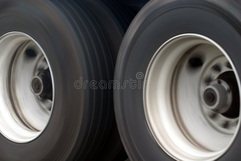 Grandes roues de camion photo stock