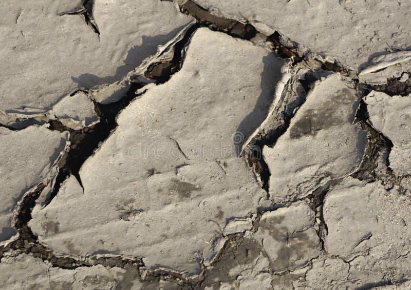 Grandes textures au sol criquées en vert images libres de droits